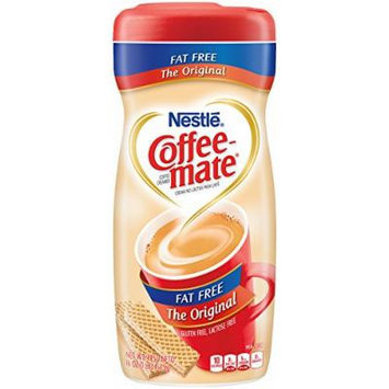 Coffee-Mate Fat Free Powdered Coffee Creamer, 16-Ounce Packages (Pack of 12)