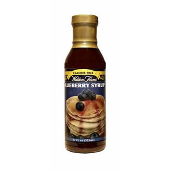 Walden Farms Blueberry SYRUP - Sugar Free, Calorie Free, Fat Free, Carb Free, Gluten Free - 1 Bottle