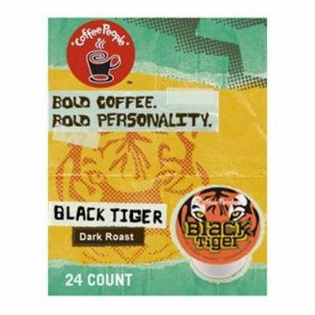 Coffee People Black Tiger Blend, K-cups 24 ea