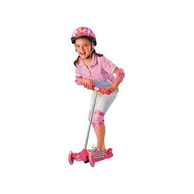 Tilt And Turn Folding Scooter - Pink.