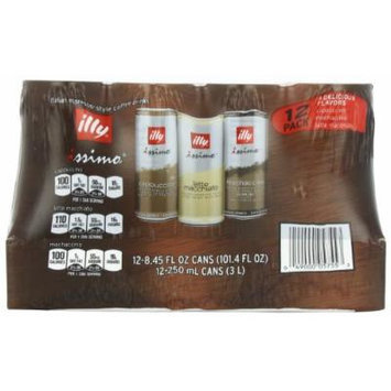 illy issimo Coffee Variety Pack, 8.45-Ounce (Pack of 12)