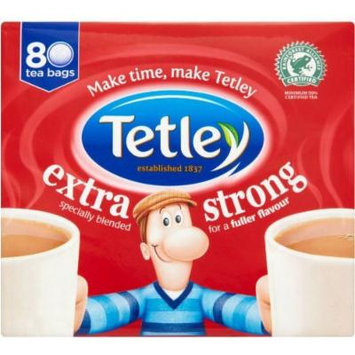 Tetley Extra Strong 80 Tea Bags