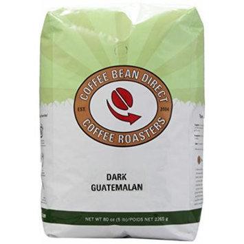 Coffee Bean Direct Dark Guatemalan, Whole Bean Coffee, 5-Pound Bag