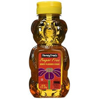 Honeytree's Honey Flavored Syrup, Sugar Free, 12-ounce Plastic Bear