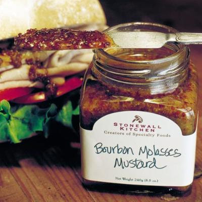 Bourbon Molasses Mustard (8 oz)