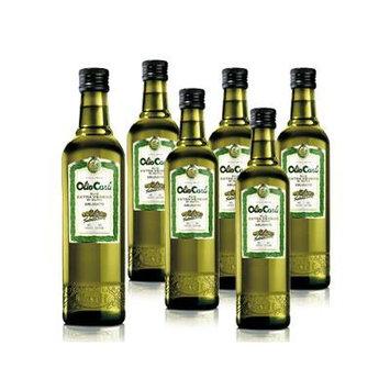 Olio Carli Extra Virgin Olive Oil. Six Half Liter (17oz.) Bottles.