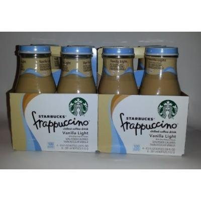 Starbucks Frappuccino Vanilla Light (Pack of 8)
