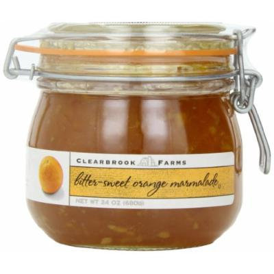 Clearbrook Farms Bitter-Sweet Orange Marmalade 24 Oz