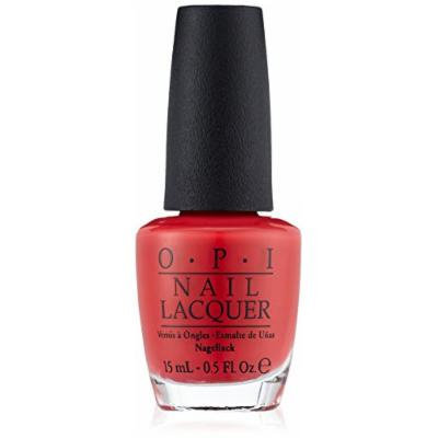 Opi Nail Laquer 2012 Spring-Summer Holland Collection, Red Lights Ahead Where?, 0.5 Fluid Ounce