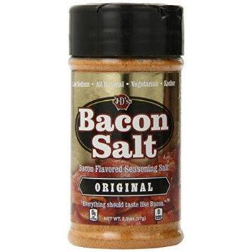 J&D's Bacon Salt, Original, 1.3 Pound