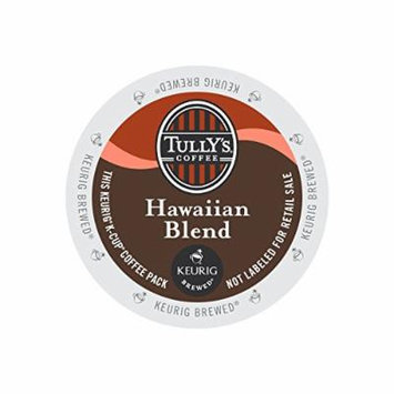 Keurig, Tully's, Hawaiian Blend Coffee, K-Cup packs, 48-Count