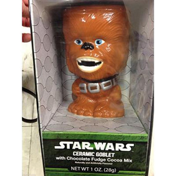 Star Wars Ceramic Goblet with Hot Cocoa Mix CHEWBACCA