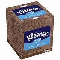 Kleenex Ultra Soft 3-Ply Facial Tissues 85 Count (Pack of 18)