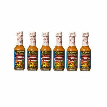 El Yucateco Caribbean Hot Sauce 4 oz. (6-Pack)