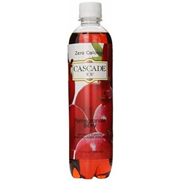 Cascade Ice Sparkling Water, Pomegranate Blueberry, 17.2 Ounce (Pack of 12)