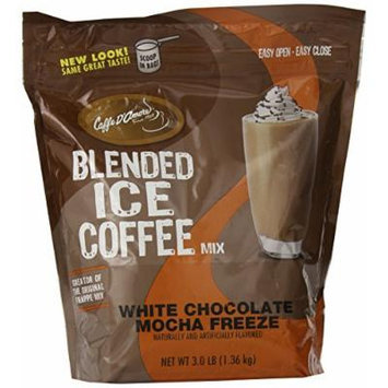 Frappe Freeze Ice Blended Coffee, White Chocolate Mocha, 3-Pound