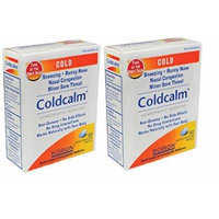Boiron - Coldcalm, 60 tablets (2 Pack)