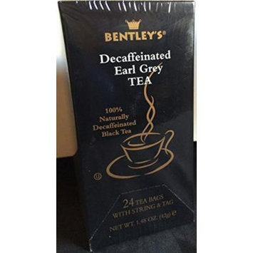 Bentley's Decaffeinated Tea (Earl Grey)