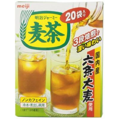 Meiji Mugicha Tea Bag, 20 Count