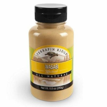 Terrapin Ridge Wasabi Mustard, 8.8-Ounce (Pack of 6)