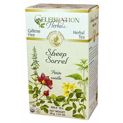 Celebration Herbals Tea Loosepack Herbal Organic Sheep Sorrel -- 40 g