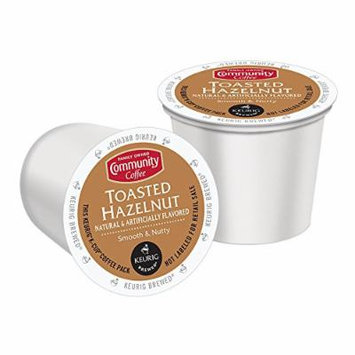 Community Coffee K-Cup Pods, Toasted Hazelnut, 12 Count (Pack of 3)