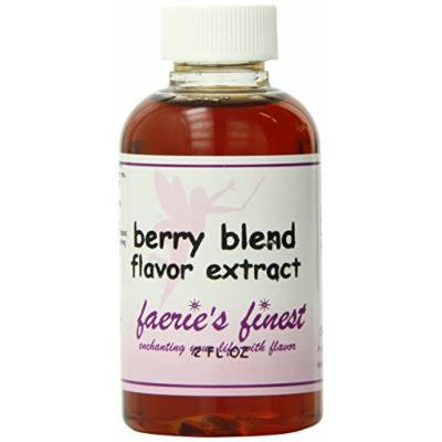Faeries Finest Flavor Extract, Berry Blend, 2 Ounce
