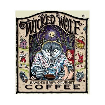 Raven's Brew Auto Drip Grind Wicked Wolf, Dark Roast 12-Ounce Bag