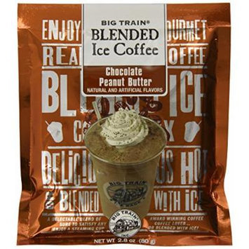 Big Train Blended Ice Coffee, Chocolate Peanut Butter, 2.8-Ounce Bags (Pack of 25)