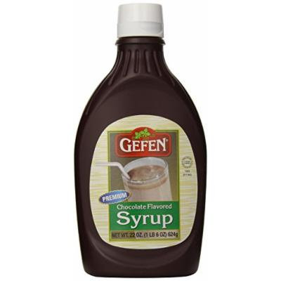 Gefen Syrup, Chocolate, 22 Ounce (Pack of 12)