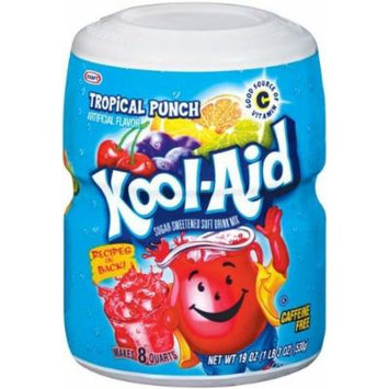 Kool-aid Tropical Punch Soft Drink Mix 19 Oz (Pack of 3)