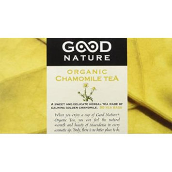 Good Nature Organic Chamomile Tea, 0.71 Ounce