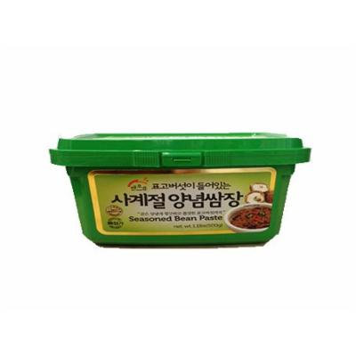 Haioreum Seasoned Bean Paste 500g 해오름 표고버섯이 들러있는 사계절 양념쌈장 500g