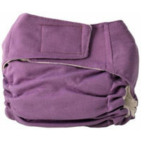 Cuteybaby All in One Modern Cloth Diaper, Solid Purple, Infant