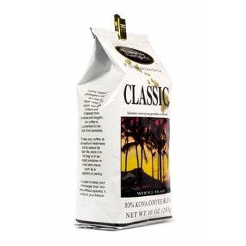 Hawaiian Isles Kona Classic Whole Bean Coffee