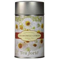 Tea Forte CHAMOMILE CITRON Loose Leaf Organic Herbal Tea 1.75 Ounce Tea Tin