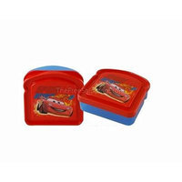 Disney Cars Bread Sandwich Container - Red