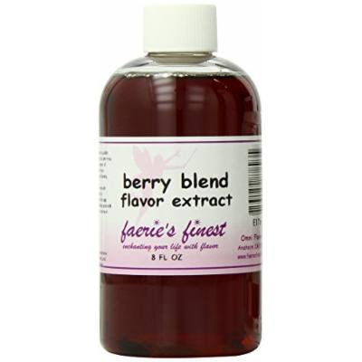 Faeries Finest Flavor Extract, Berry Blend, 8 Ounce