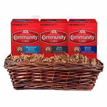 Community Coffee Gift Set Variety Pack, K-Cup Pods