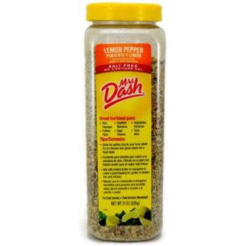 Mrs Dash Lemon Pepper Salt-Free Blend, 21 Ounce (Pack of 3)