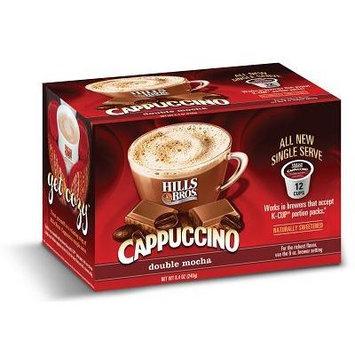 Hills Bros Double Mocha Cappuccino Keurig K-Cups, 12 Count