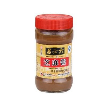 Liu Bi Ju - Chinese Gingili Paste Sesame Sauce 300g (Pack of 1)