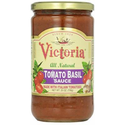 Victoria Tomato Basil Sauce, 25 Ounce