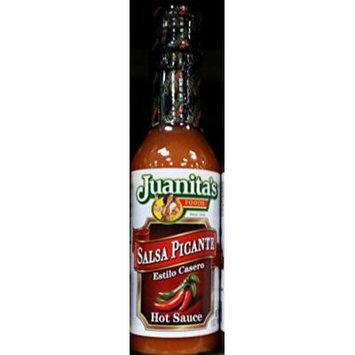 Juanita's Salsa Picante Hot Sauce 5 Oz (Pack of 4)