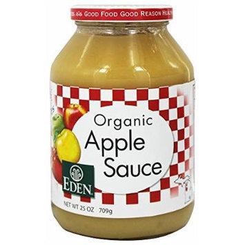 Eden Foods - Organic Apple Sauce - 25 oz. (Pack of 2)