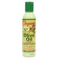 Africa's Best Organics Olive Oil Extra Virgin Conditioner Leave-In 6 oz. (3-Pack) with Free Nail File