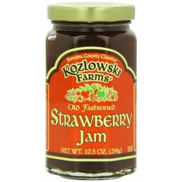 Kozlowski Farms Jam, Strawberry, 10.5-Ounce (Pack of 6)