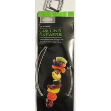 2 Pack Flexible Grillling Skewers