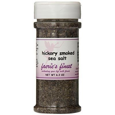 Faeries Finest Sea Salt, Hickory Smoked, 6.20 Ounce