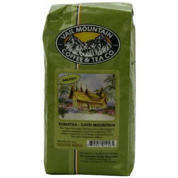 Vail Mountain Coffee & Tea Organic Sumatra-Gayo Mountain Whole Bean Coffee, 12-Ounce Bags (Pack of 3)